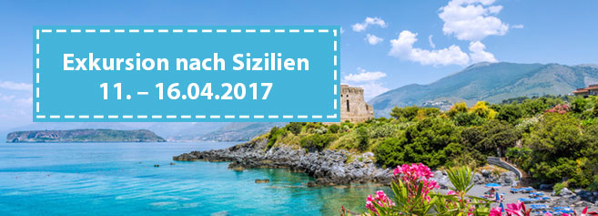 Exkursion nach Sizilien