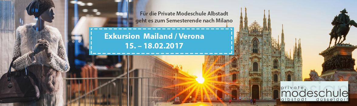 Exkursion Mailand / Verona