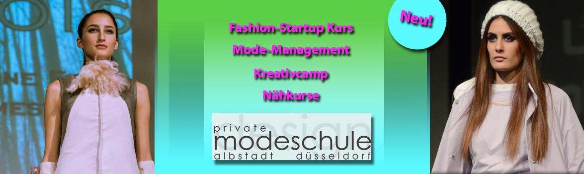 Private Modeschule Albstadt und Düsseldorf: Workshops